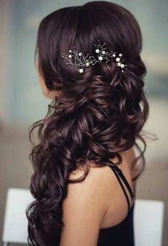 40 Gorgeous Side Swept Wedding Hairstyles | HappyWedd.com ...