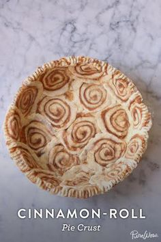 Cinnamon-Roll Pie Cr