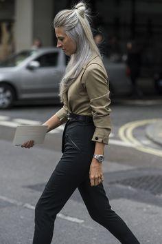 London Fashion Week's Street Style | W Magazine | The UNDONE
