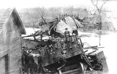 The first great Middlebury derailment took place at 4:40 in the morning, on Friday, May 5, 1893.