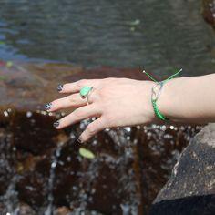 ring & bracelet by Helena Rohner