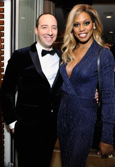 Pin for Later: All the Best Pictures From the SAG Awards Afterparties! Pictured: Tony Hale and Laverne Cox Laverne Cox, Trans Rights, Sag Awards, Transgender, Cool Pictures, Photo Galleries, Good Things, Actresses, Vestidos