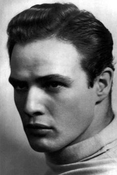 Marlon Brando,a great,talented actor  legend, who studied  mastered his craft under Lee Strasberg  Stella Adler at the Actors Studio in N.Y. who taught Method Acting,