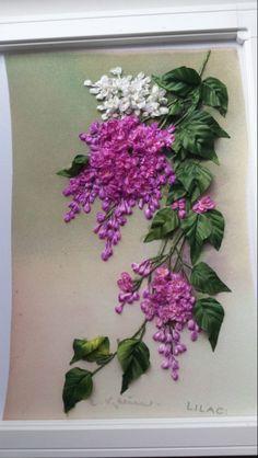 Gallery.ru / букет лилейника с ромашками - Вышивка лентами М.Борзенко - ZBM