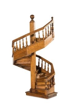 A Miniature Timber Staircase   Price Estimate: $600   $800