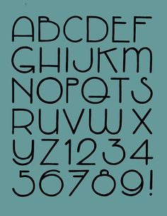 Alphabet retro art deco calligraphy fonts, typography fonts, number c Hand Lettering Alphabet, Typography Letters, Typography Design, Alphabet Art, Fun Fonts Alphabet, Art Deco Typography, Letter Fonts, Art Deco Font, Alphabet Design