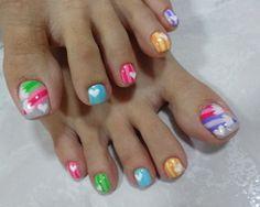 Colour Pencils  #nail #nails #nailart: