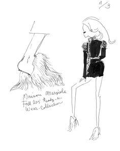 Maison Margiela Fall 2015: akiko hiramatsu