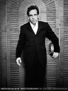 Ben Stiller photographed by Patrik Andersson - in a Blue Steel mansion way before Zoolander