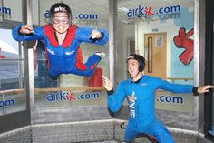 Experience thrill of skydiving without the need of a parachute. Indoor Skydiving packages available at M.Keynes, Manchester and Basingstoke. Unique gift experience and ideal for corporate and team building days. No experience required. Adventure Days Out, Indoor Skydiving, Manchester City Centre, Experience Gifts, Milton Keynes, Bollywood News, Inspirational Gifts, Race Cars, Colors