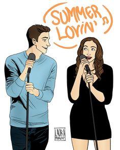 Summer Lovin' - Snowbarry fan art - The Flash CW fanart