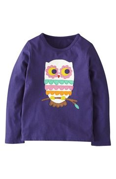 Mini Boden 'Big Appliqué' Tee (Toddler Girls, Little Girls & Big Girls) available at #Nordstrom