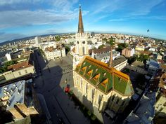 The Liberty Square (by drone)