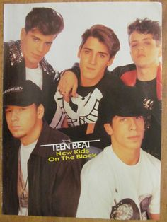 New Kids on the Block, NKOTB, Jordan Knight Double Sided Full Page Vintage Pinup