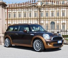 I don't like the 'clubman' model but I do love the colours of this one! MINI Cooper S Clubman Chateau by Aznom
