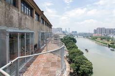 Galeria de Silo-top Studio, Escritório na cobertura de um antigo armazém / O-OFFICE Architects - 2