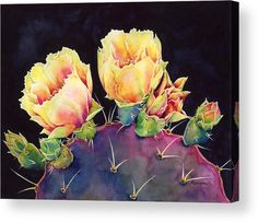 Desert Bloom 2 Acrylic Print by Hailey E Herrera.  All acrylic prints are professionally printed, packaged, and shipped within 3 - 4 business days and delivered ready-to-hang on your wall. Choose from multiple sizes and mounting options.