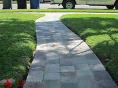 Gray Paver Walkway - Bing images
