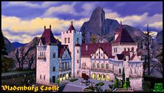 SimsDelsWorld: The Sims 4 : Vladenburg Castle