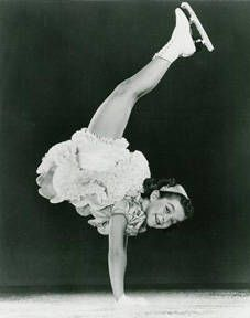 Janet Champion ~ Child Skating Star ~ Toured with Shipstads & Johnson Ice Follies - now does skating clinics