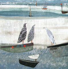 Gulls on Boats, £30.00