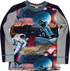 Molo Boys fall/winter 2014 space shirt
