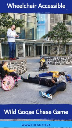 Launching the first ever wheelchair acessible wild goose chase game in collabiration with the Gallivanting Goose and Warrior On Wheels Foundation.