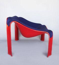 Pierre Paulin easy chair fiberglas F300