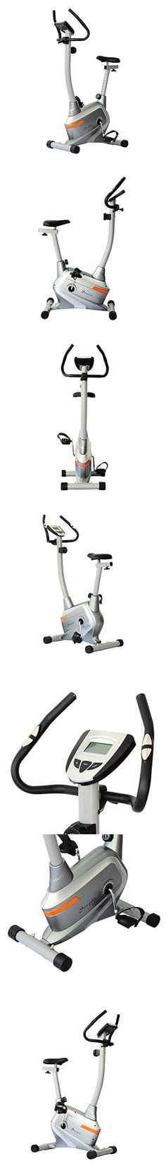 Soozier 2 in 1 Exercise Cross Trainer Bike w/LCD Monitor - Silver