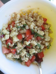 Fresh Corn Salad | Tasty Kitchen: A Happy Recipe Community!