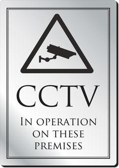 CCTV In Operation Bar Sign and other bar supplies at great prices with fast delivery from Bar Activity!