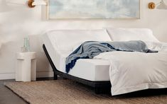 Casper Adjustable Bed Frames, built for all mattress sizes. Each bed frame is designed to adjust and adapt to your sleep needs. Casper Bed, Casper Mattress, Twin Xl Mattress, King Size Mattress, Best Mattress, Foam Mattress, Adjustable Bed Frame, King Size Pillows, Wooden Bed Frames