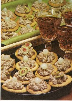 19 exciting 70s buffet images finger foods canapes parties food rh pinterest com