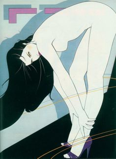 "durandelorean: "" Patrick Nagel - Playboy (1982) """