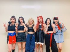 First Girl, My Girl, South Korean Girls, Korean Girl Groups, Bandana Top, Soo Jin, I Love You Baby, Stage Outfits, Minnie