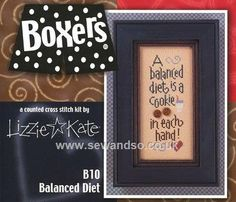 Buy Balanced Diet Chart/Fabric/Button Online at www.sewandso.co.uk