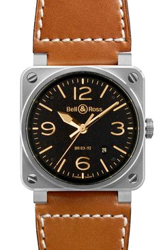 Bell&Ross BR03-92 Golden Heritage Automatique BR0392-ST-G-HE SCA