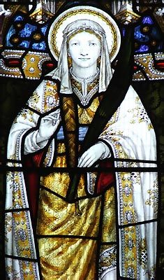 St. Tudfyl was one of the daughters of King Brychan Brycheiniog. She was a good Christian and travelled across South Wales, founding churches at Merthyr and Llysworney. While visiting her aging father, the palace was attacked by a raiding party of Brits or Saxons. She was killed in the raid and her brother, Rhun, mustered a force of men to pursue them. They slew most in a battle by the river at Pont Rhun. Unfortunately, Rhun was killed at the moment of victory. Tudfyl's feast day is 23rd…