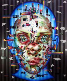 JUSTIN BOWER http://www.widewalls.ch/artist/justin-bower/ #fine #art