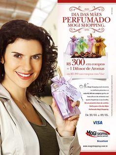 Anúncio dia das Mães, Mogi Shopping - Agência DMV