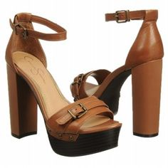 Jessica Simpson Cosimo Shoes (Tan Leather) - Women's Shoes - 10.0 M