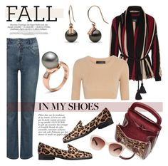 """""""Perfect Pair: Fall Loafers"""" by pearlparadise ❤ liked on Polyvore featuring M&Co, Lanvin, Calvin Klein Collection, Alexander McQueen, L.K.Bennett, Anja, Eloquii, contestentry, pearljewelry and pearlparadise"""