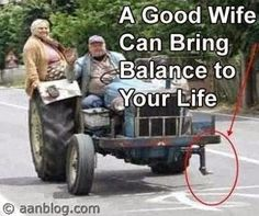 Funny Pictures, Jokes and Gifs / Animations: Your Wife Can Balance ...
