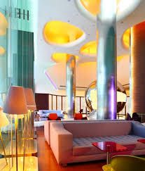 Image result for bold color interiors