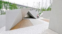 Beijing Sunken Gardens designed by Plasma Studio and Groundlab