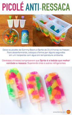 Picolé de gummy bears                                                       …