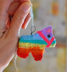 Mini Piñata ♥♥♥♥ Navidad Mexicana