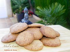 Miel y Limón Recetas Galletas Cookies, No Bake Cookies, Baking Cookies, Sweet Recipes, Potatoes, Gluten Free, Bread, Vegetables, Desserts