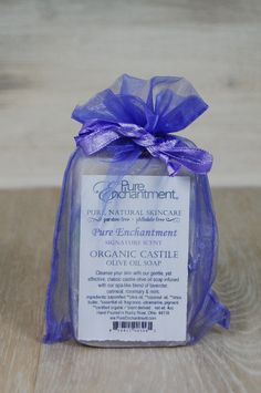 Certified Organic Sheer Organix Rejuvenative Herbal Soap 4 Oz Bath & Body Lavender Keep You Fit All The Time Bar Soaps