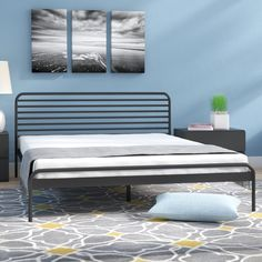 You'll love the Metal Platform Bed at AllModern - With Great Deals on modern products and Free Shipping on most stuff, even the big stuff.